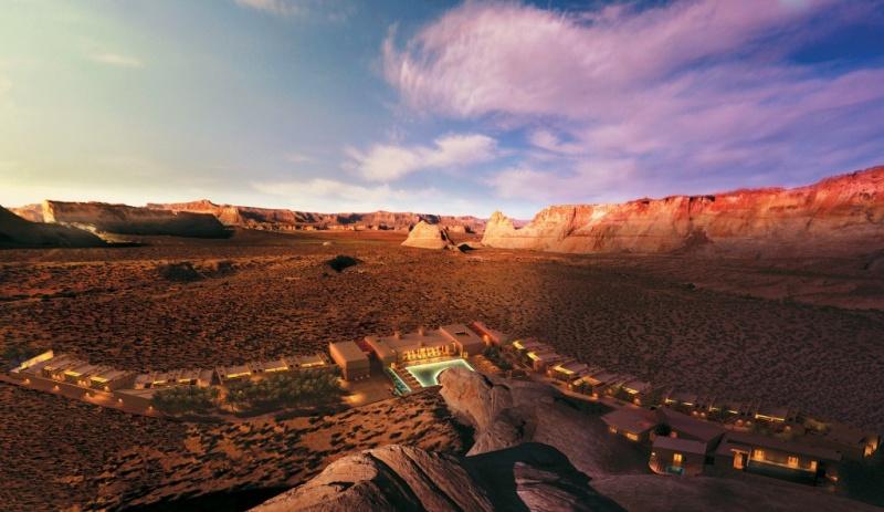 Paysage - désert aux Etats-Unis - Amangiri hôtel