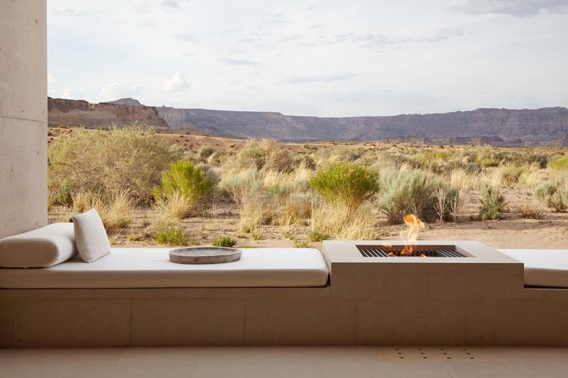 L'Amangiri hôtel - désert - Etats-Unis