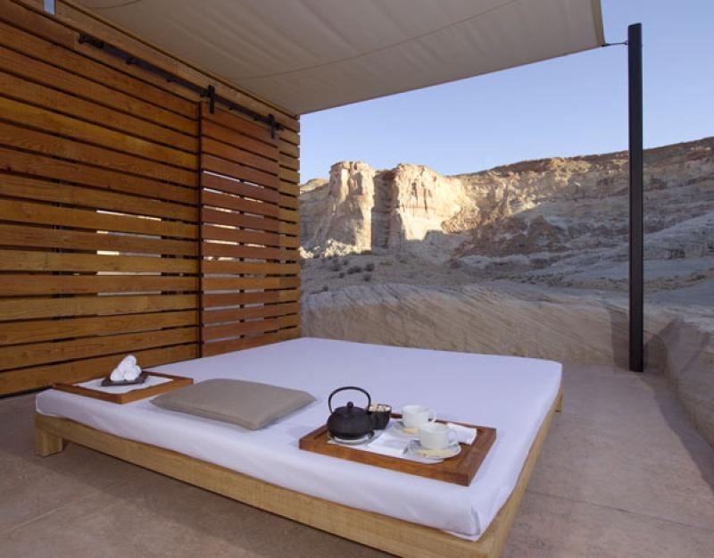 Lit pour se reposer - Amangiri Hôtel - Etats-Unis