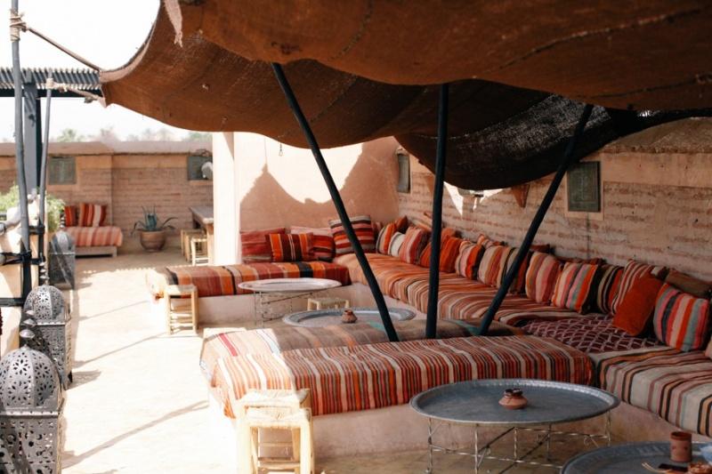 Terrasse- riad El Fenn - Maroc