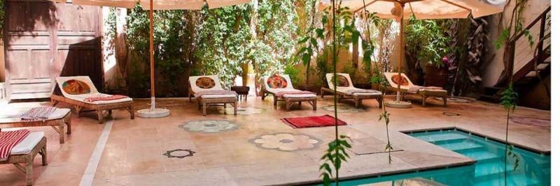 Piscine - riad El Fenn - Maroc