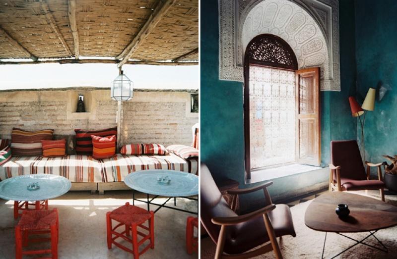 Terrasse - riad El Fenn - Maroc