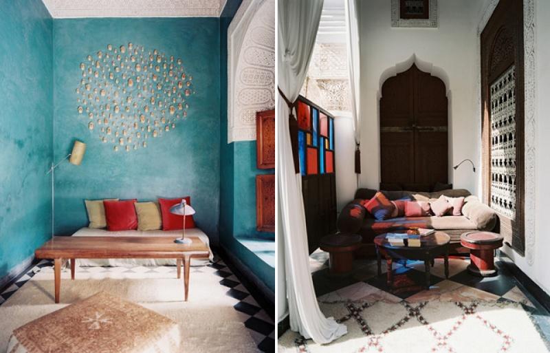 Salon - riad El Fenn - Maroc