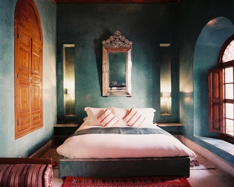 Chambre - riad El Fenn au Maroc