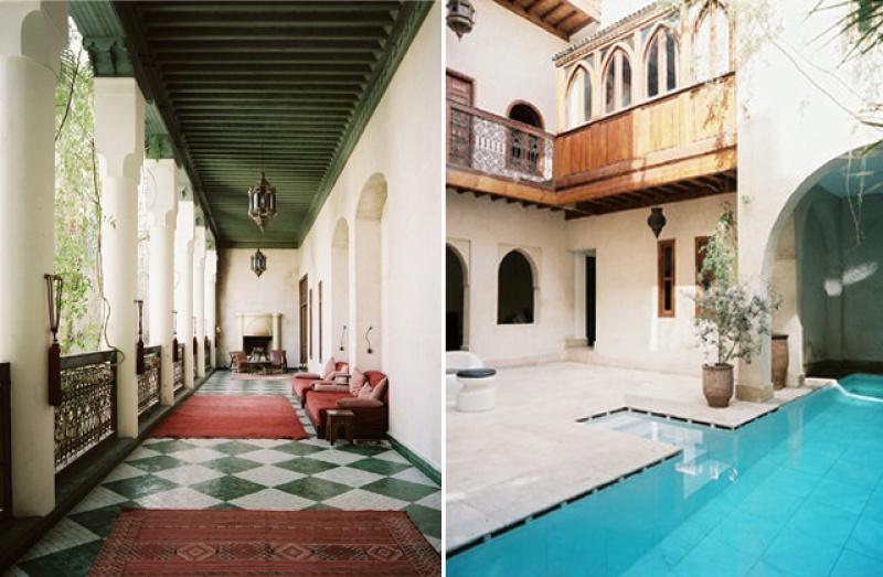Déco - Riad El Fenn au Maroc