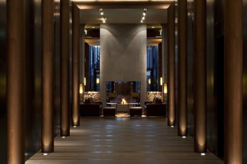 Couloir du Chedi Andermatt Hôtel - Alpes