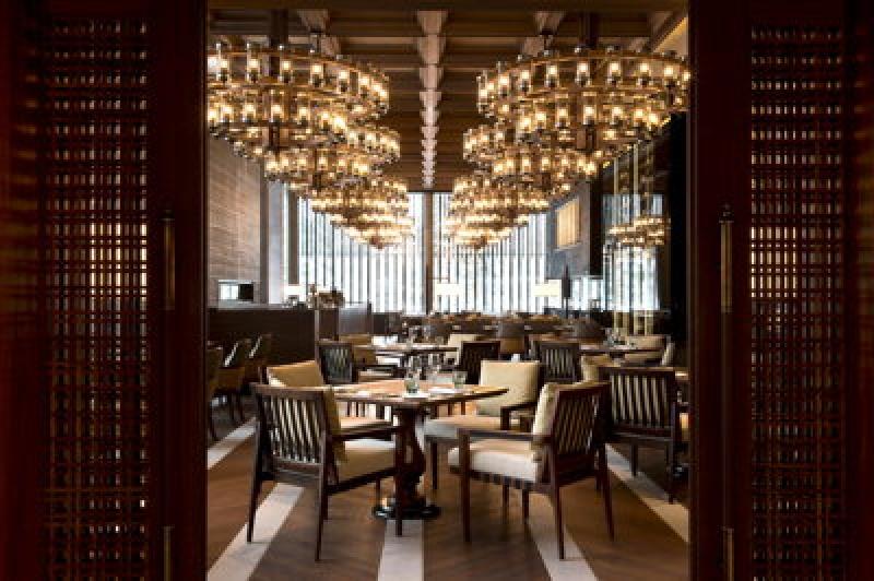 Restaurant - Chedi Andermatt Hôtel dans les Alpes Suisses