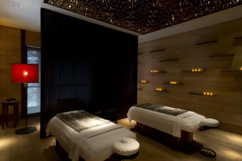 Salle de massage - Chedi Andermatt Hôtel dans les Alpes Suisses