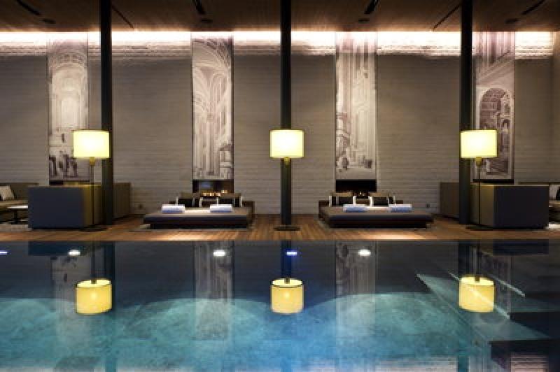 Spa - The Chedi Andermatt Hôtel dans les Alpes Suisses