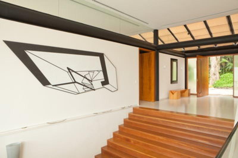 Escalier design à Rio de Janeiro