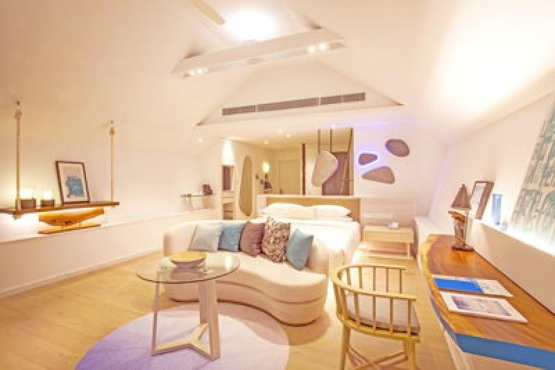 Salon - Lux South Ari Atoll aux Maldives