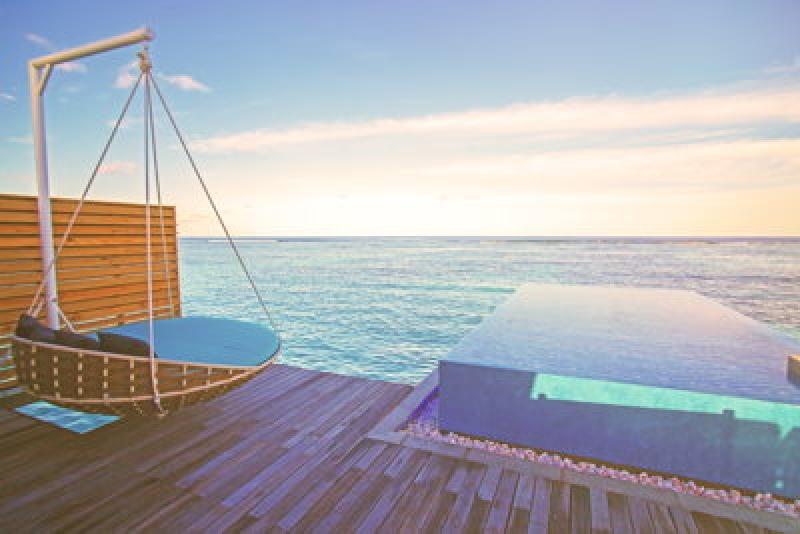 Vue sur la mer - Lux South Ari Atoll aux Maldives
