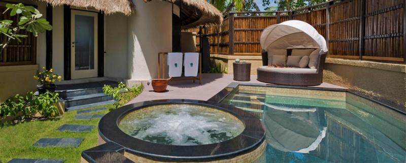Installations de rêve - l'hôtel Banyan Tree Vabbinfaru aux Maldives
