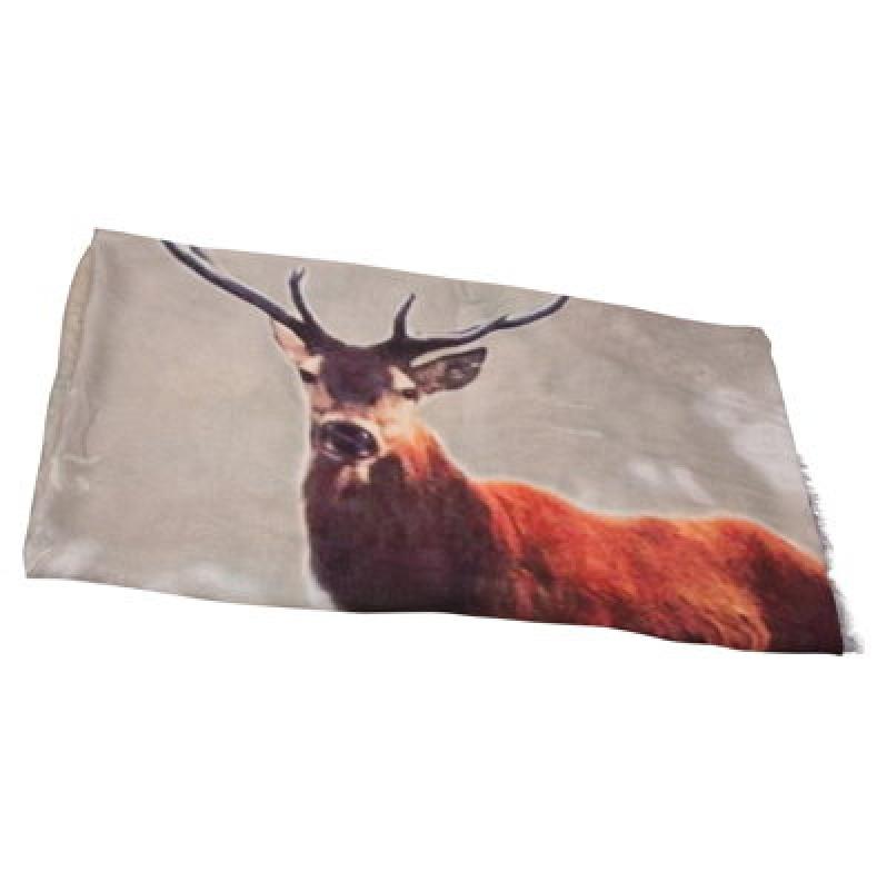 YAYAFoulard imprimé « cerf », 39,95€