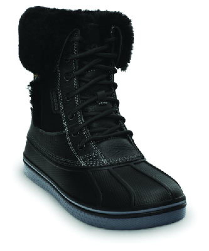 CROCSAllcast Luxe Duck Boot,Black & Charcoal, 149,99€
