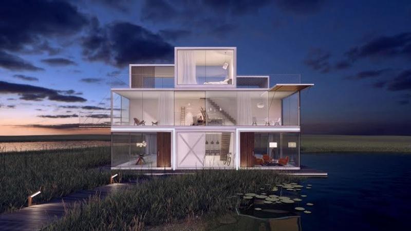 La maison Tétris aux Pays-Bas