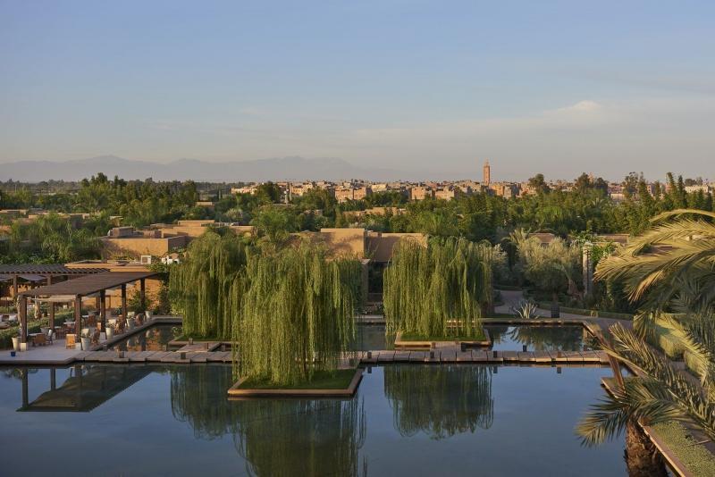 Vue sur Marrakech