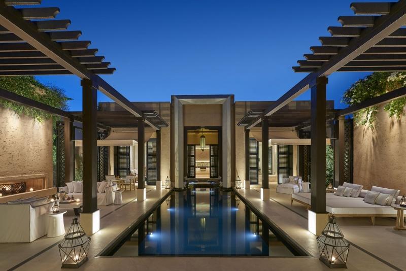 Découvrir la Piscine - Mandarin Oriental à Marrakech