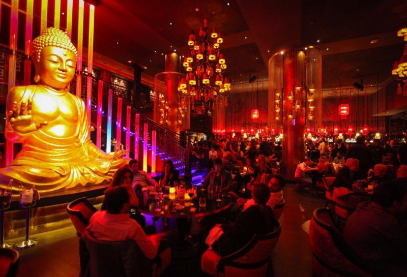 Déco stylée au Buddha-bar - Marrakech