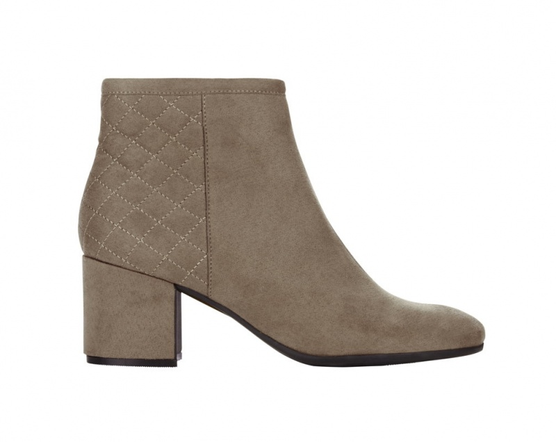 BOOTS M&S Collection velours beige – 49,95€