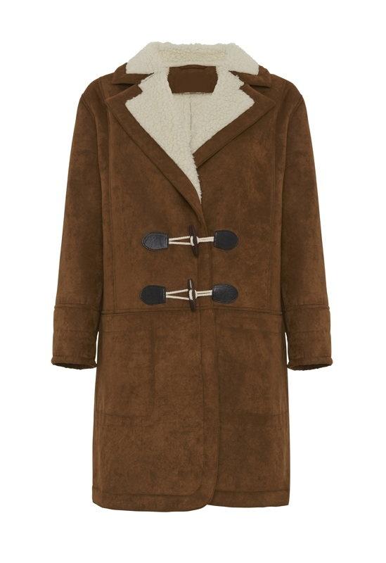 DUFFLECOAT Limited Edition façon peau lainée – 119,95€