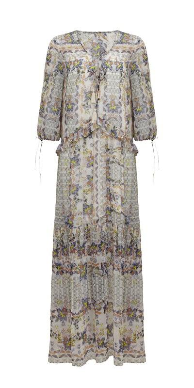 Découvrir une robe longue bohème