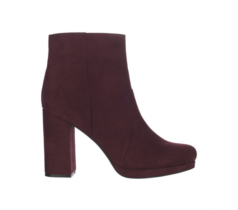 BOOTS Limited Edition velours bordeaux – 49,95€