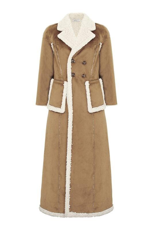 MANTEAU Limited Edition façon peau lainée – 119,95€
